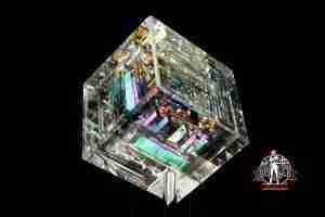 Akihiro Dichroic Prism 2.5 Inch Cube!!