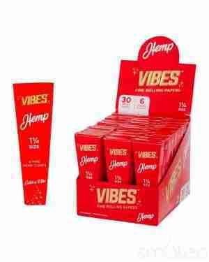 Vibes Cones Hemp 1.25″
