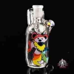 Stringbeansglass Dancing Bear Dry Catcher 14/45