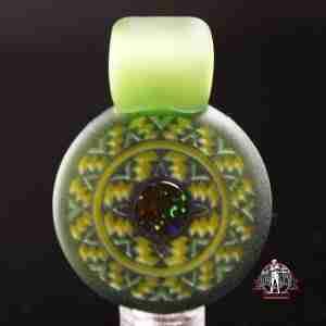 Glass Maze Pendant # 12
