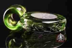 Glass Maze Pendant # 8